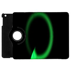 Rotating Ring Loading Circle Various Colors Loop Motion Green Apple Ipad Mini Flip 360 Case by Mariart