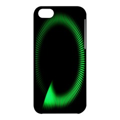 Rotating Ring Loading Circle Various Colors Loop Motion Green Apple Iphone 5c Hardshell Case by Mariart
