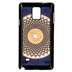 Sahasrara Blue Samsung Galaxy Note 4 Case (black)