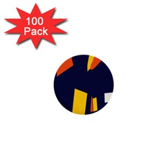 Slider Explore Further 1  Mini Buttons (100 Pack)  by Mariart