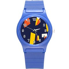 Slider Explore Further Round Plastic Sport Watch (s) by Mariart