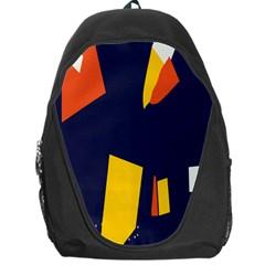 Slider Explore Further Backpack Bag by Mariart
