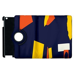 Slider Explore Further Apple Ipad 3/4 Flip 360 Case by Mariart