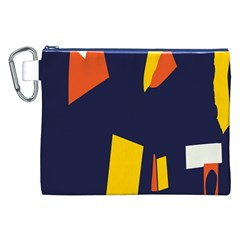 Slider Explore Further Canvas Cosmetic Bag (xxl) by Mariart