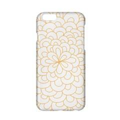 Rosette Flower Floral Apple Iphone 6/6s Hardshell Case by Mariart