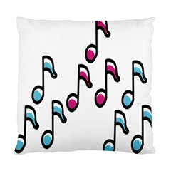 Sound Advice Royalty Free Music Blue Red Standard Cushion Case (one Side) by Mariart