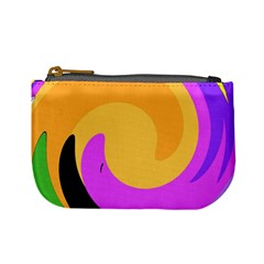 Spiral Digital Pop Rainbow Mini Coin Purses by Mariart