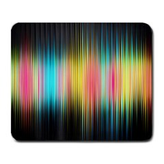 Sound Colors Rainbow Line Vertical Space Large Mousepads by Mariart