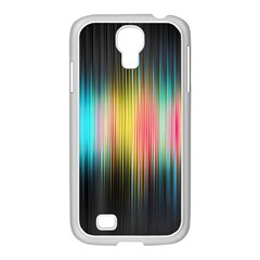 Sound Colors Rainbow Line Vertical Space Samsung Galaxy S4 I9500/ I9505 Case (white) by Mariart