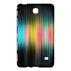 Sound Colors Rainbow Line Vertical Space Samsung Galaxy Tab 4 (8 ) Hardshell Case  by Mariart