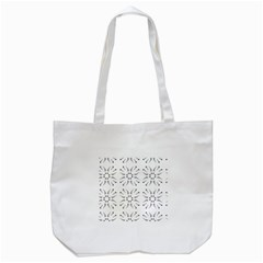 Squid Flower Floral Polka Dots Sunflower Tote Bag (white) by Mariart