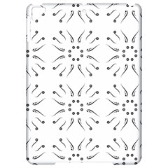 Squid Flower Floral Polka Dots Sunflower Apple Ipad Pro 9 7   Hardshell Case by Mariart