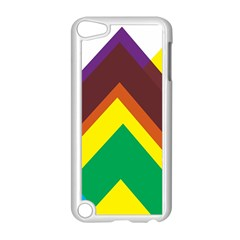 Triangle Chevron Rainbow Web Geeks Apple Ipod Touch 5 Case (white) by Mariart