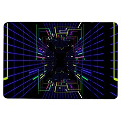 Seamless 3d Animation Digital Futuristic Tunnel Path Color Changing Geometric Electrical Line Zoomin Ipad Air Flip by Mariart