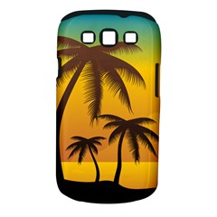 Sunset Summer Samsung Galaxy S Iii Classic Hardshell Case (pc+silicone) by Mariart