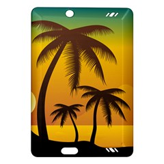 Sunset Summer Amazon Kindle Fire Hd (2013) Hardshell Case by Mariart