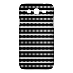 Tribal Stripes Black White Samsung Galaxy Mega 5 8 I9152 Hardshell Case  by Mariart