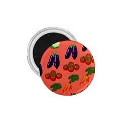Vegetable Carrot Tomato Pumpkin Eggplant 1 75  Magnets by Mariart