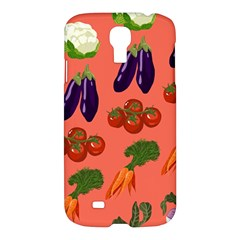 Vegetable Carrot Tomato Pumpkin Eggplant Samsung Galaxy S4 I9500/i9505 Hardshell Case by Mariart