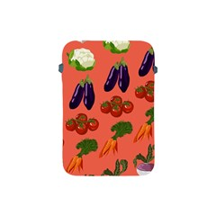 Vegetable Carrot Tomato Pumpkin Eggplant Apple Ipad Mini Protective Soft Cases by Mariart