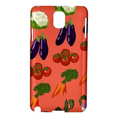 Vegetable Carrot Tomato Pumpkin Eggplant Samsung Galaxy Note 3 N9005 Hardshell Case by Mariart
