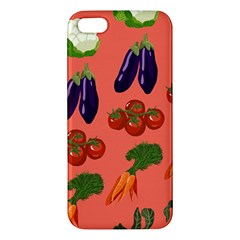 Vegetable Carrot Tomato Pumpkin Eggplant Iphone 5s/ Se Premium Hardshell Case by Mariart