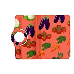 Vegetable Carrot Tomato Pumpkin Eggplant Kindle Fire Hd (2013) Flip 360 Case by Mariart