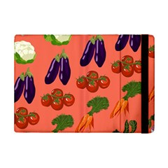 Vegetable Carrot Tomato Pumpkin Eggplant Ipad Mini 2 Flip Cases by Mariart