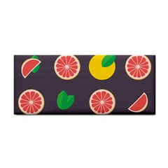 Wild Textures Grapefruits Pattern Lime Orange Cosmetic Storage Cases by Mariart