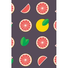 Wild Textures Grapefruits Pattern Lime Orange 5 5  X 8 5  Notebooks by Mariart