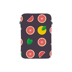 Wild Textures Grapefruits Pattern Lime Orange Apple Ipad Mini Protective Soft Cases by Mariart