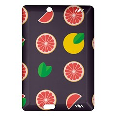 Wild Textures Grapefruits Pattern Lime Orange Amazon Kindle Fire Hd (2013) Hardshell Case by Mariart