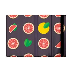 Wild Textures Grapefruits Pattern Lime Orange Ipad Mini 2 Flip Cases by Mariart
