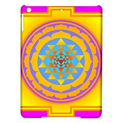 Triangle Orange Pink Ipad Air Hardshell Cases by Mariart
