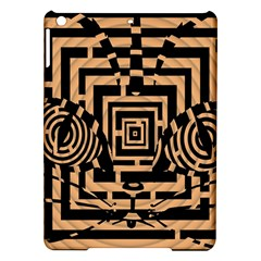 Wooden Cat Face Line Arrow Mask Plaid Ipad Air Hardshell Cases by Mariart