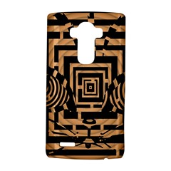 Wooden Cat Face Line Arrow Mask Plaid Lg G4 Hardshell Case by Mariart