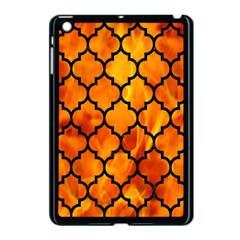 Tile1 Black Marble & Fire (r) Apple Ipad Mini Case (black) by trendistuff
