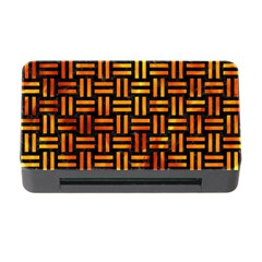Woven1 Black Marble & Fire Memory Card Reader With Cf by trendistuff