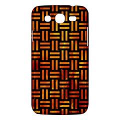 Woven1 Black Marble & Fire Samsung Galaxy Mega 5 8 I9152 Hardshell Case  by trendistuff