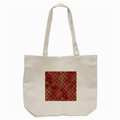 Woven2 Black Marble & Fire (r) Tote Bag (cream) by trendistuff