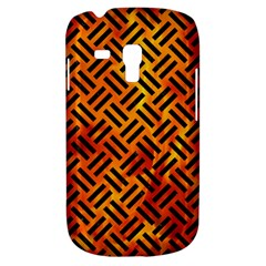 Woven2 Black Marble & Fire (r) Galaxy S3 Mini by trendistuff