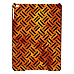 Woven2 Black Marble & Fire (r) Ipad Air Hardshell Cases by trendistuff