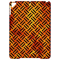 Woven2 Black Marble & Fire (r) Apple Ipad Pro 9 7   Hardshell Case by trendistuff
