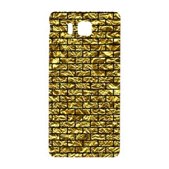 Brick1 Black Marble & Gold Foil (r) Samsung Galaxy Alpha Hardshell Back Case by trendistuff