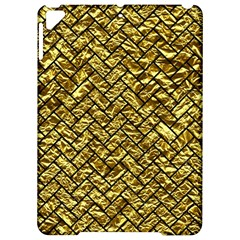 Brick2 Black Marble & Gold Foil (r) Apple Ipad Pro 9 7   Hardshell Case by trendistuff