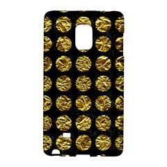 Circles1 Black Marble & Gold Foil Galaxy Note Edge by trendistuff