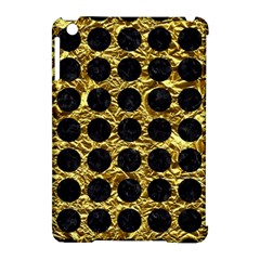 Circles1 Black Marble & Gold Foil (r) Apple Ipad Mini Hardshell Case (compatible With Smart Cover) by trendistuff