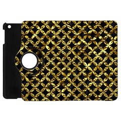 Circles3 Black Marble & Gold Foil Apple Ipad Mini Flip 360 Case by trendistuff