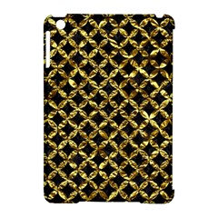 Circles3 Black Marble & Gold Foil Apple Ipad Mini Hardshell Case (compatible With Smart Cover) by trendistuff