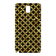 Circles3 Black Marble & Gold Foil Samsung Galaxy Note 3 N9005 Hardshell Back Case by trendistuff